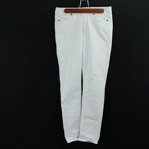 PAIGE Jeans Kylie Crop White Jeans READ